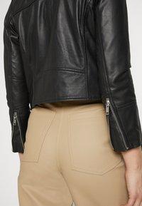 Deadwood - JOAN JACKET - Leather jacket - black - 5