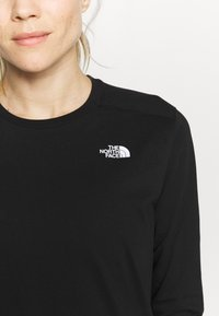 The North Face - WOMENS SIMPLE DOME TEE - Topper langermet - black - 4
