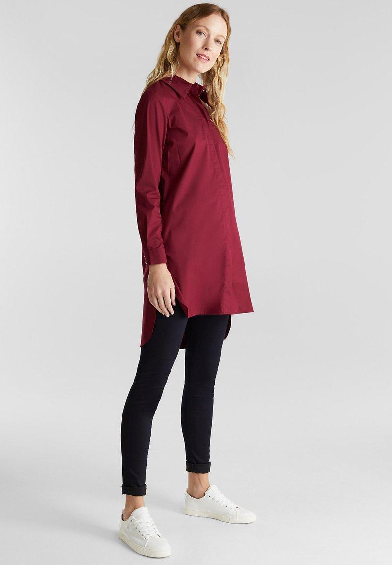 Esprit Collection Hemdbluse - bordeaux red/bordeaux kgTAc8
