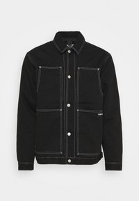 DOUBLE FRONT JACKET ALTADENA - Light jacket - black rinsed