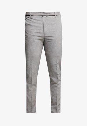 SEED ZIP DETAIL - Trousers - grey