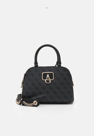 ALISA SMALL GIRLFRIEND SATCHEL - Handbag - coal