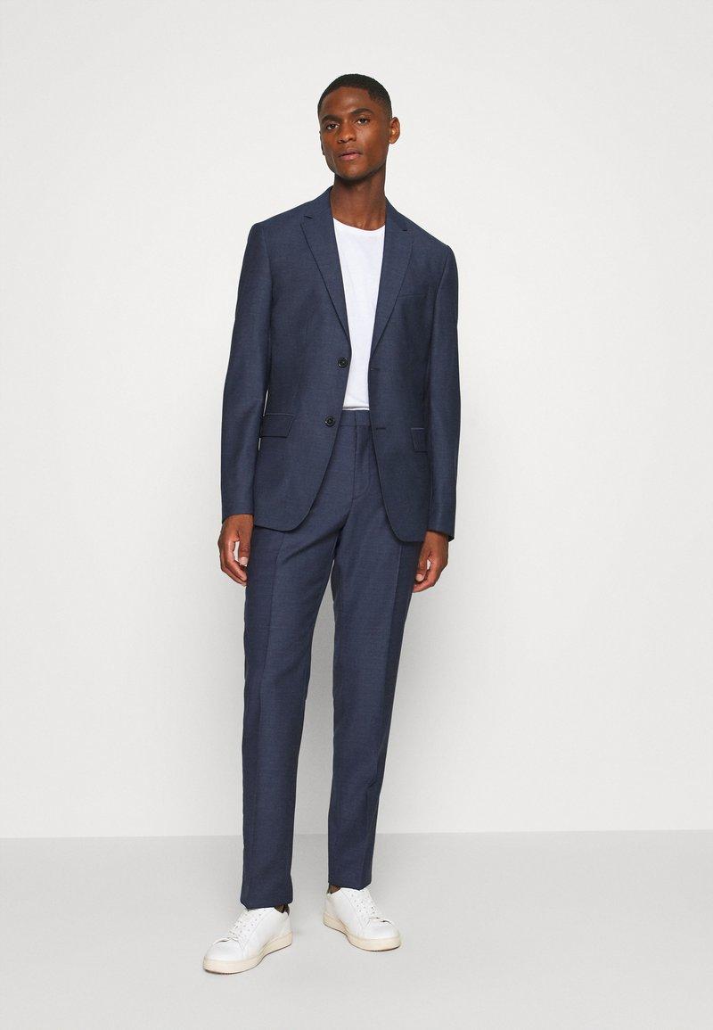 Calvin Klein Tailored - SPECKLED SUIT - Suit - blue