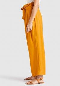 khujo - EIVOLA - Trousers - yellow - 3