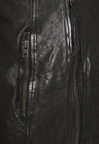 Tigha - FABRICE - Kožená bunda - black - 5