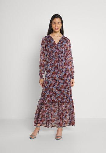 VIFALIA ANCLE DRESS - Vestito lungo - winetasting blue