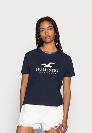 TIMELESS LOGO  - T-shirts med print - navy