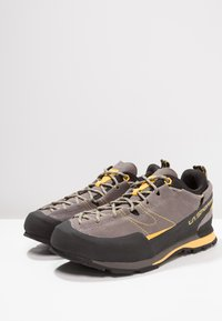 La Sportiva - BOULDER X - Climbing shoes - grey/yellow - 2