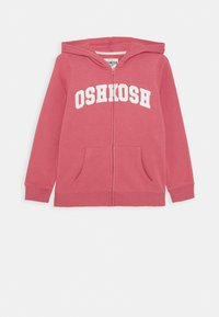 OshKosh - LOGO HOODIE - Mikina na zip - pink - 0