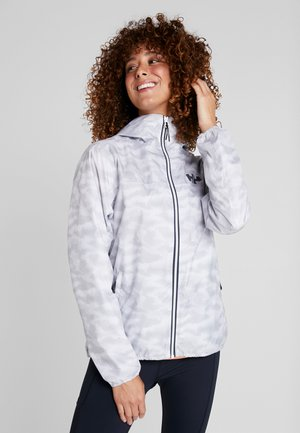 BELFAST PACKABLE JACKET - Hardshellová bunda - white active grid