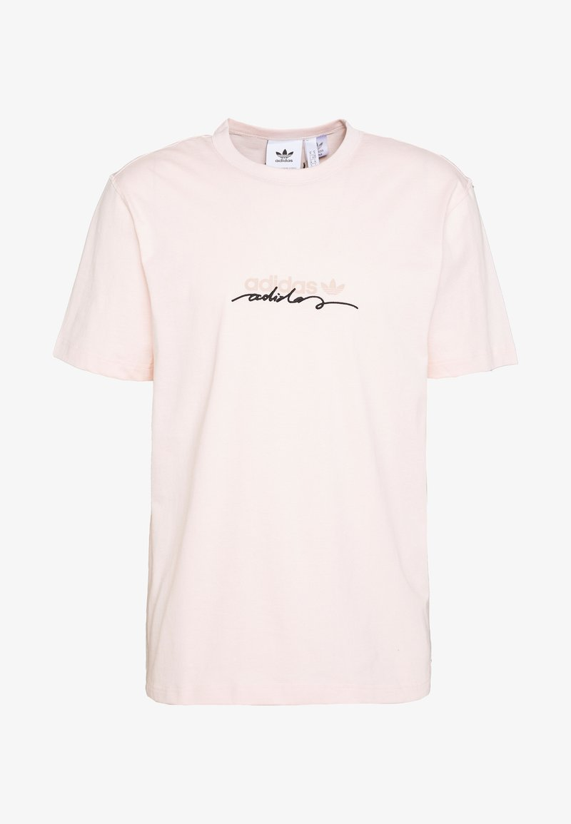 adidas Originals - INSPIRED LOOSE SHORT SLEEVE TEE - Print T-shirt - pink