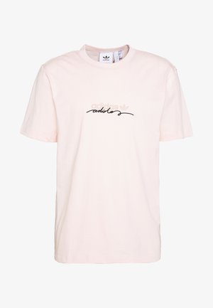 INSPIRED LOOSE SHORT SLEEVE TEE - Printtipaita - pink