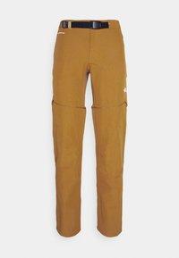 LIGHTNING CONVERTIBLE PANT  - Trousers - timber tan