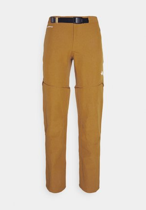 LIGHTNING CONVERTIBLE PANT  - Tygbyxor - timber tan