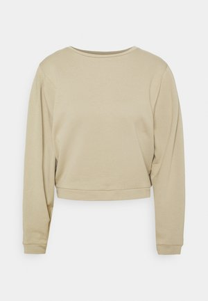 Sweatshirt - light lime