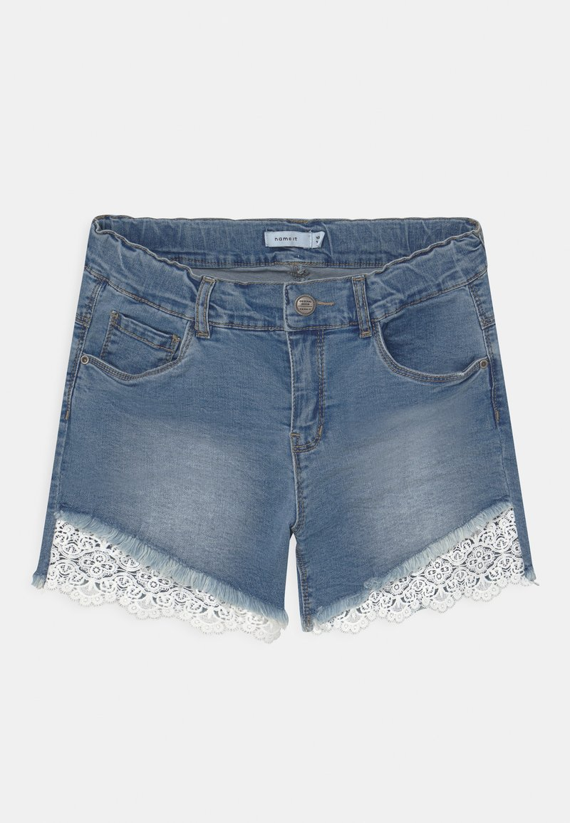 Name it - NKFSALLI - Denim shorts - light blue denim