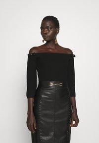 Elisabetta Franchi - Pencil skirt - nero - 4