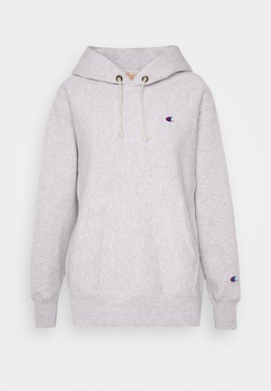 HOODED - Jersey con capucha - grey