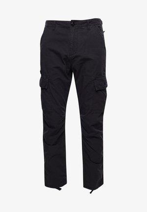 Pantaloni cargo - washed black