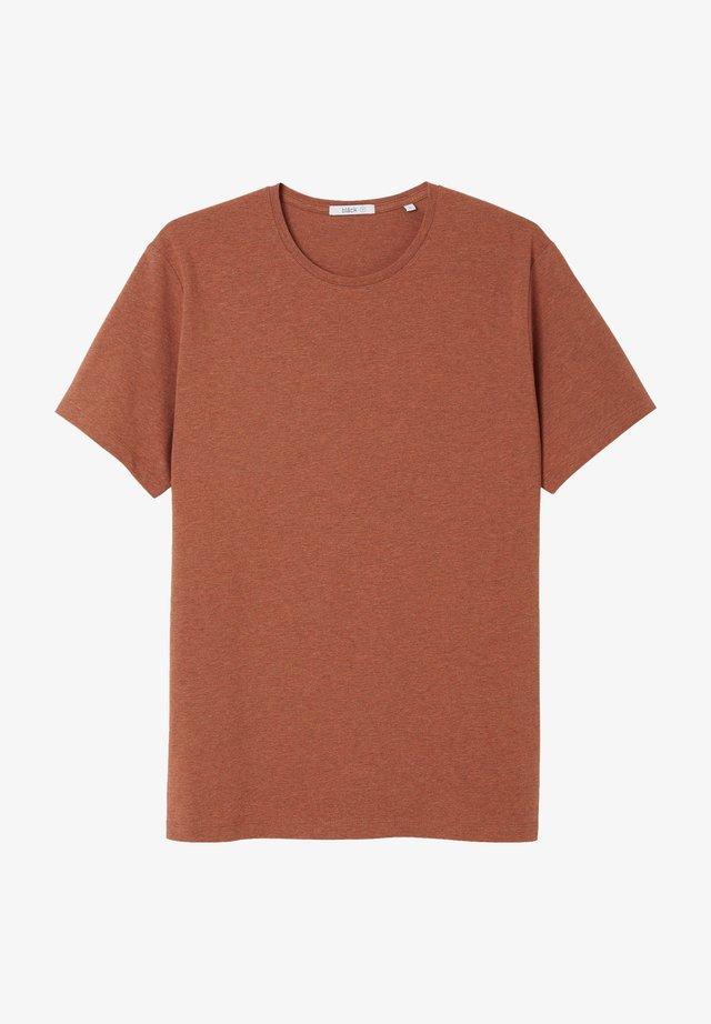 T-shirt basic - rust melange