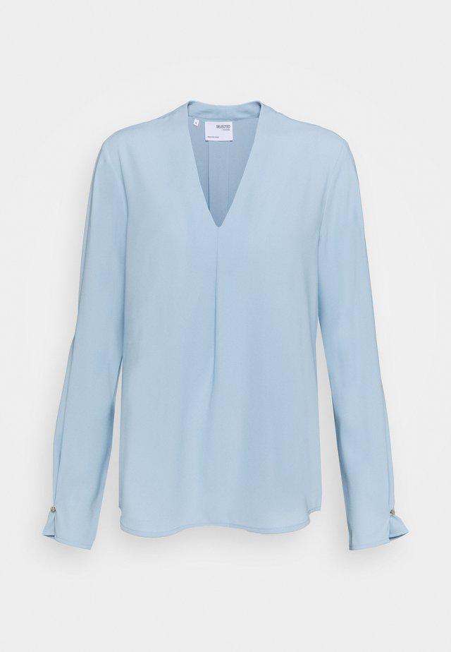 SLFLUNA - Bluzka - cashmere blue