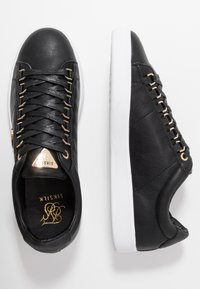 SIKSILK - PRESTIGE - Zapatillas - black/gold - 1