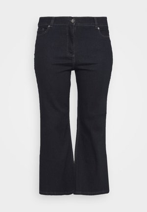 WIDE LEG - Flared Jeans - indigo
