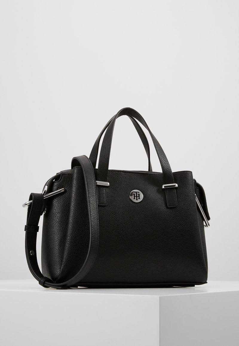 Tommy Hilfiger - CORE SATCHEL - Håndtasker - black