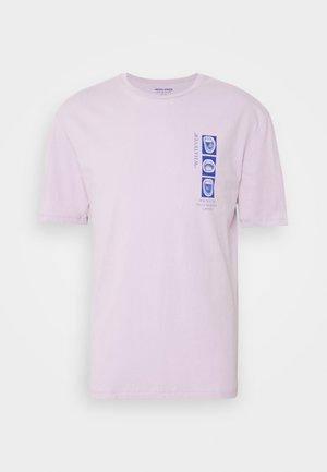 JORLICK TEE CREW NECK  - Print T-shirt - lavender frost