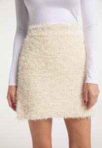 faina - A-line skirt - champagner - 3