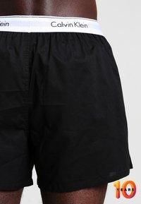 Calvin Klein Underwear - MODERN BOXER SLIM 2 PACK - Boxer shorts - black - 2