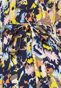 Pieces - PCROSITA 3/4 MIDI DRESS - Shirt dress - navy blazer/misty rose - 5