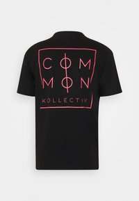 Common Kollectiv - UNISEX SPIKE TEE - Print T-shirt - washed black - 1