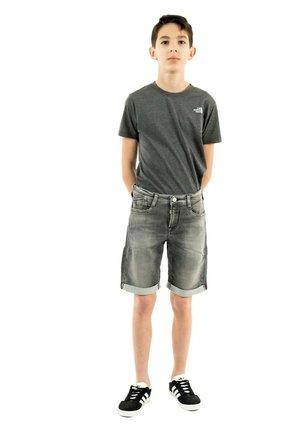 Short en jean - gris