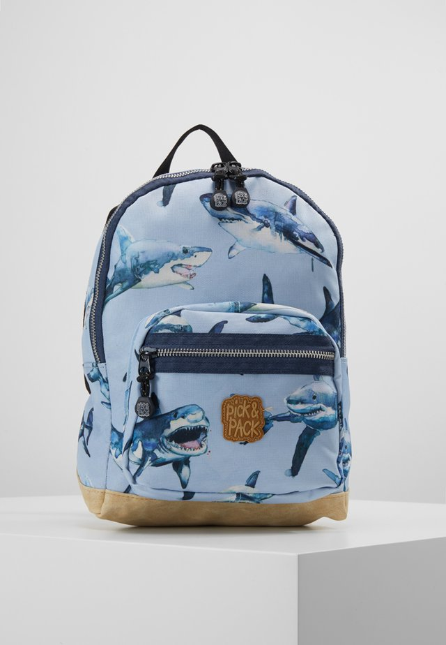 SHARK - Rucksack - light blue