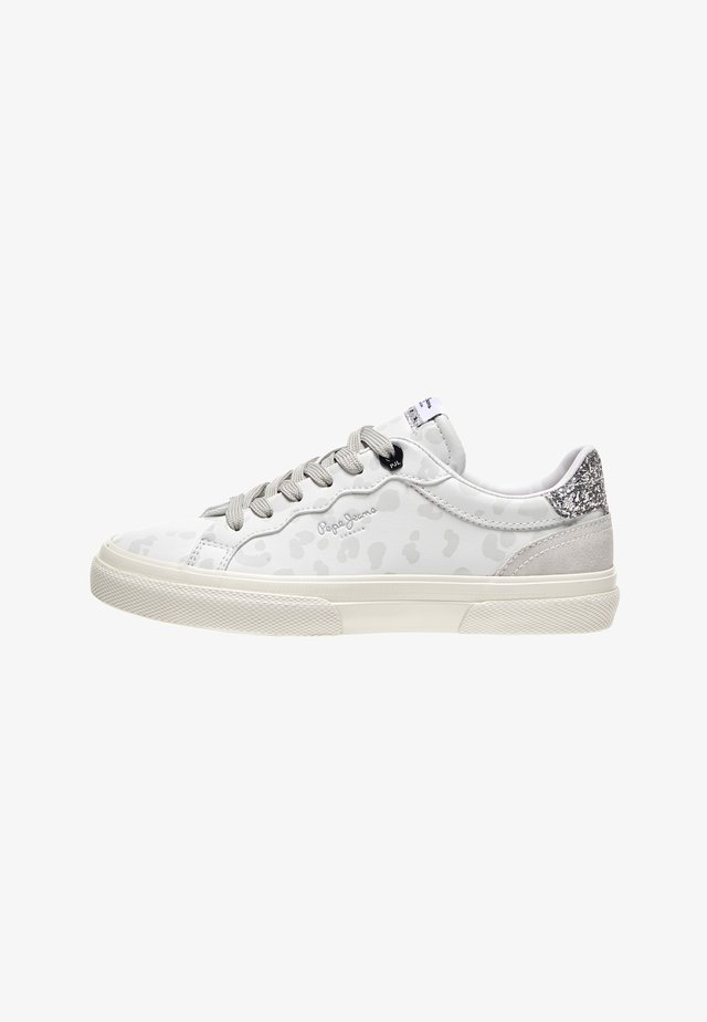 KENTON CLASSIC - Volnočasové šněrovací boty - blanco