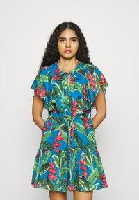 Farm Rio - DREAM GARDEN MINI DRESS - Day dress - multi - 0