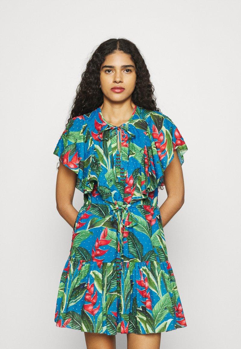 Farm Rio - DREAM GARDEN MINI DRESS - Day dress - multi