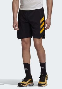adidas Performance - Pantalón corto de deporte - black - 0