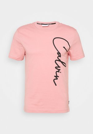 SUMMER SCRIPT LOGO - T-shirts print - blush