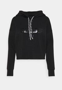 Guess - HOODED - Sweatshirt - jet black - 0