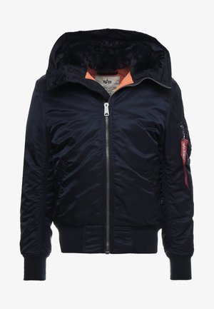 HOODED STANDART FIT - Light jacket - rep blue
