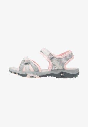 K-LANE - Walking sandals - vapor grey/frost pink