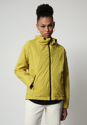 A-CIRCULAR - Light jacket - yellow moss