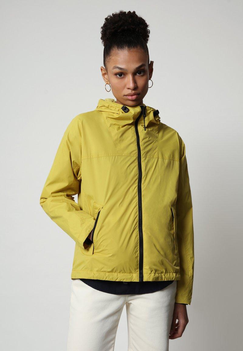Napapijri - A-CIRCULAR - Light jacket - yellow moss
