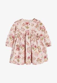 Next - PINK FLORAL JERSEY DRESS  - Denní šaty - pink - 0
