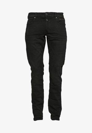 Slim fit jeans - black melange