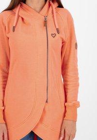 alife & kickin - Zip-up hoodie - peach - 4