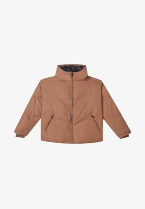 OVERSIZE MIT - Winter jacket - light brown