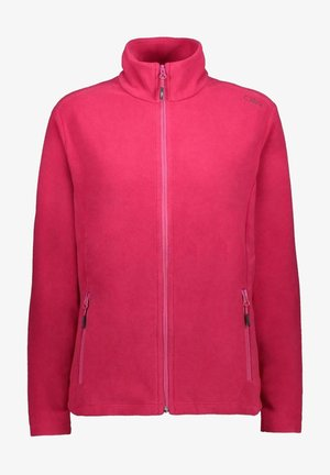 Fleece jacket - bouganville